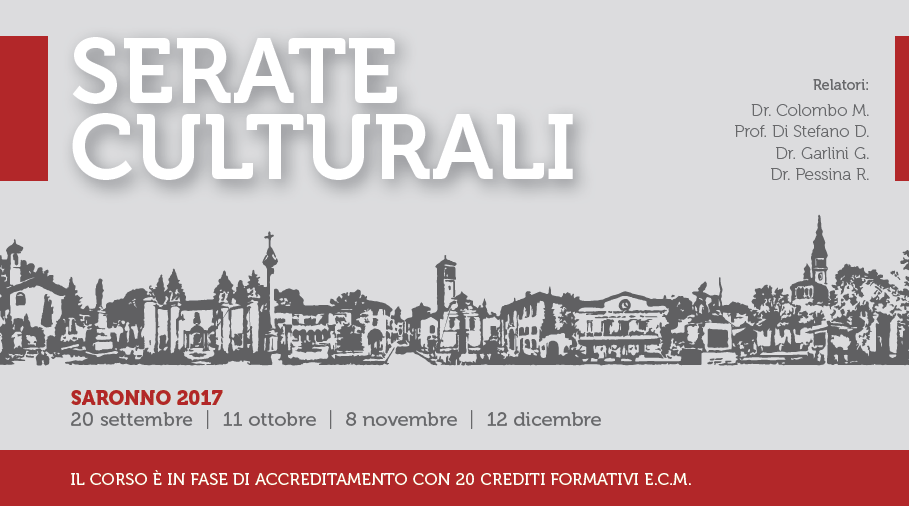 Cultural evenings – Saronno