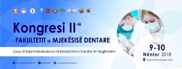 II Congresso della Facoltà Odontoiatrica Dentale – Tirana