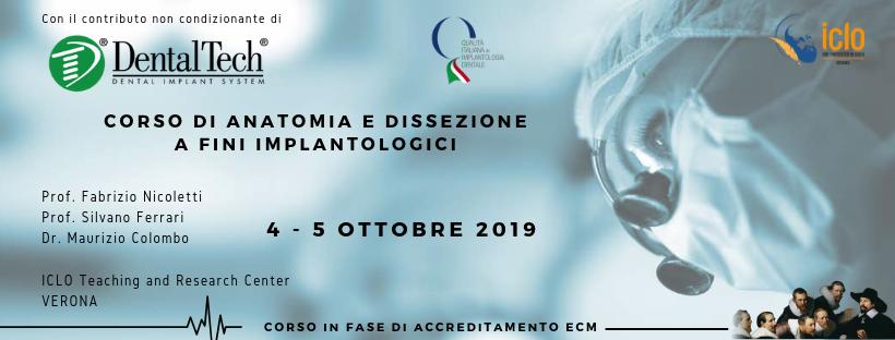 Corso di Anatomia e Dissezione a Fini Implantologici