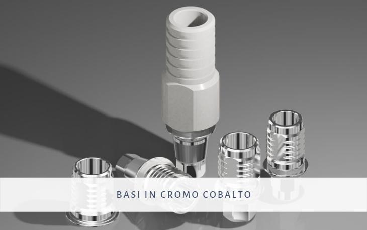 basi sovrafondibili in cromo cobalto